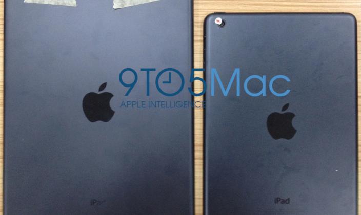 iPad 5 photos appear with Mini aesthetics