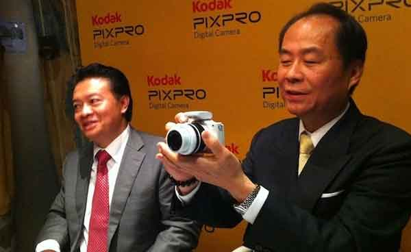 New Kodak branded micro four thirds camera from JK Imaging spied