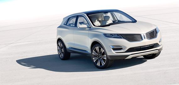 Lincoln MKC Concept looks to crossover to rescue brand