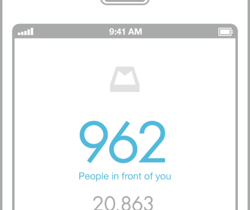 Mailbox email client for iOS opens reservation system due to high demand