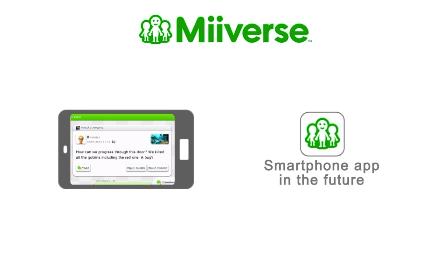 Nintendo Wii U Miiverse smartphone support incoming