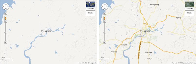 Google Maps opens North Korea - SlashGear on southeast asia map google, baghdad map google, georgia map google, venezuela map google, uzbekistan map google, anguilla map google, belarus map google, guyana map google, blank us map google, bermuda map google, indonesia map google, hungary map google, world map google, gaza strip map google, ww2 map google, aleutian islands map google, trinidad and tobago map google, congo map google, cook islands map google, monaco map google,
