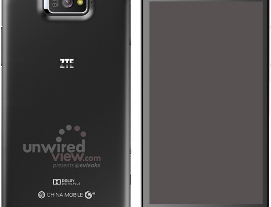 ZTE P945 phablet revealed in leaked renders