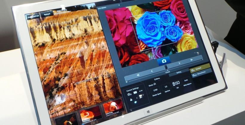 Panasonic 20-inch 4K Windows 8 Tablet hands-on