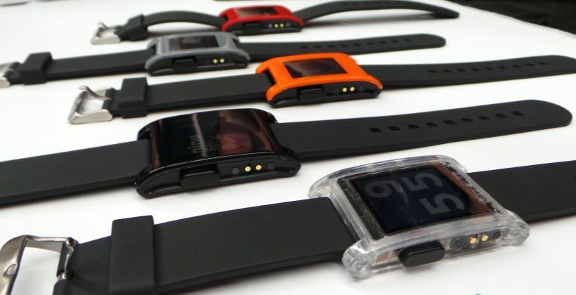 Pebble shipping today (in black first); iOS app delayed
