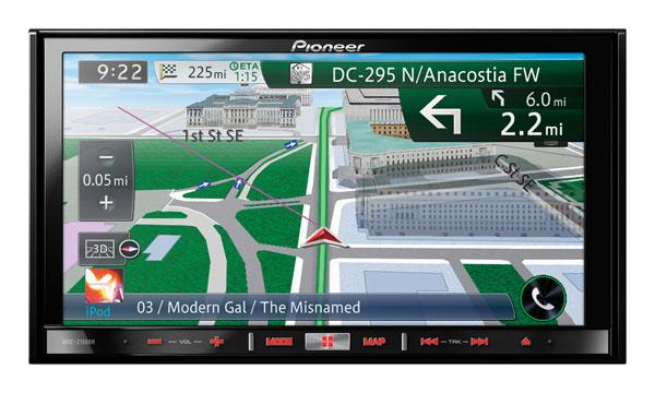 Pioneer Electronics unveils new in-dash nav systems at CES 2013