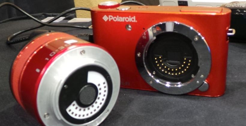 Polaroid iM1836 Android interchangeable lens camera hands-on