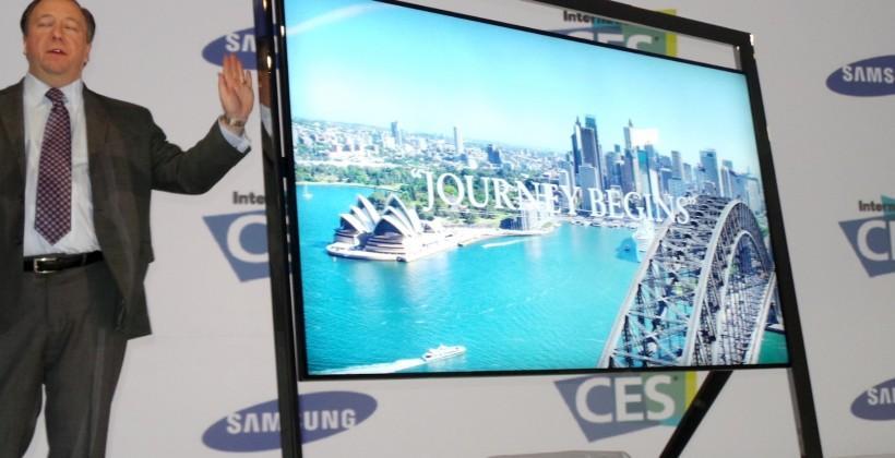 Samsung 85-inch Ultra HD UN85S9000 TV eyes-on