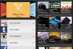 Pulse integrates Facebook, Instagram, Flickr, Tumblr, and YouTube