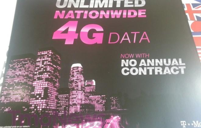 T-Mobile Monthly4G customers to get unlimited data on January 9