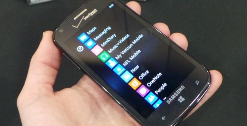 Verizon's Samsung ATIV Odyssey hands-on