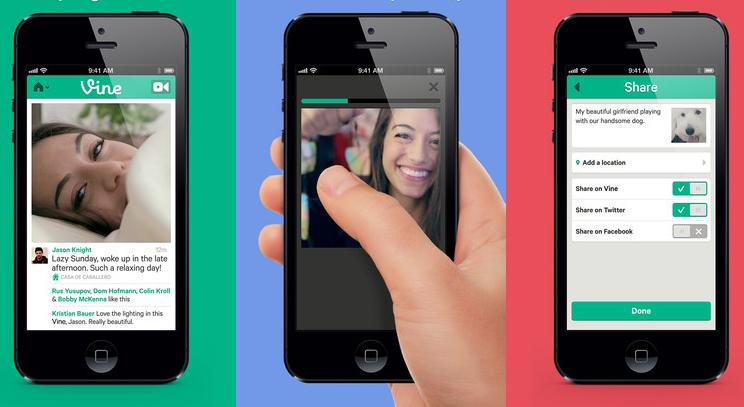 Vine arrives: 6s video sharing for Twitter and Facebook