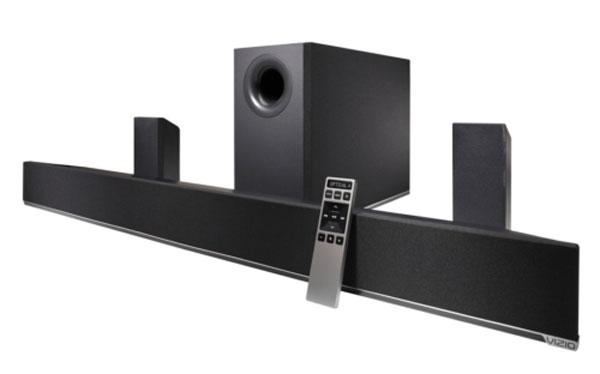Vizio unveils premium 42 and 54-inch 5.1 home theater sound bars