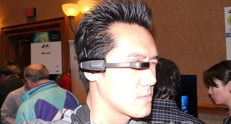 Vuzix Smart Glasses M100 hands-on