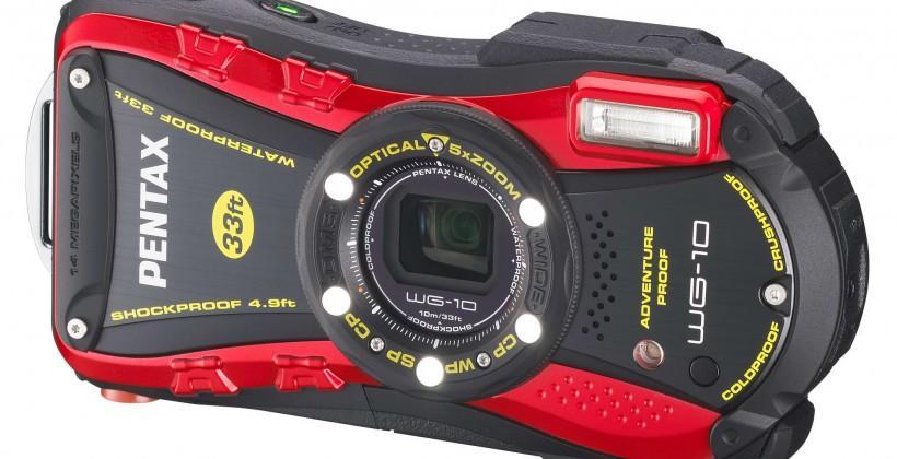 Pentax unveils the WG-10 waterproof digital camera