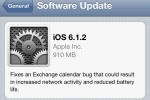 Apple releases iOS 6.1.2 update to fix Exchange bug