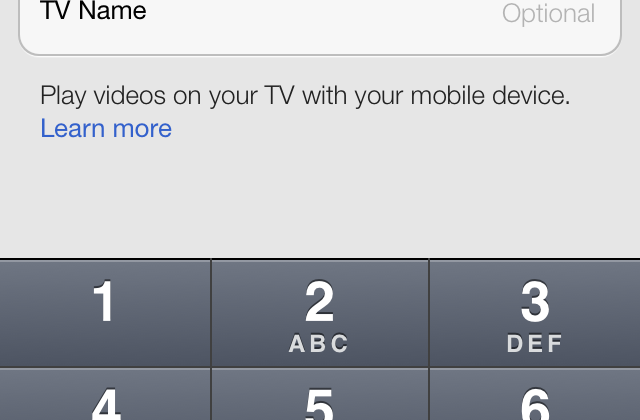 "YouTube for iOS updates with ""send to TV"" feature"