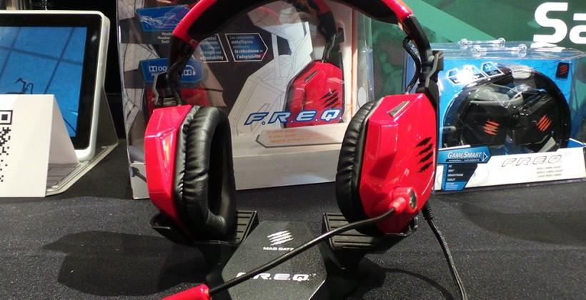 Mad Catz F.R.E.Q 7 gaming headset hands-on: connectivity galore