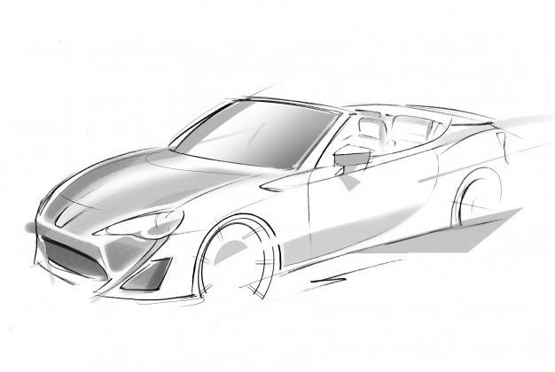 Toyota announces FR-S Roadster and i-ROAD tandem seater concepts
