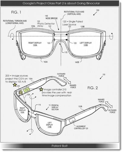 Google Glass 2 may be binocular 1