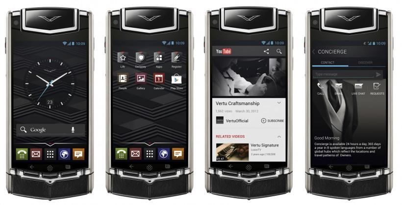 Vertu TI: Bizarre luxury smartphone with old Android and crazy $20k price