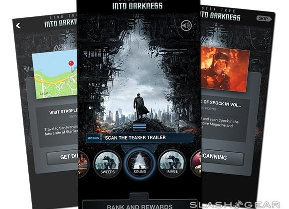 Star Trek Into Darkness app Review: dive in with Gimbal!