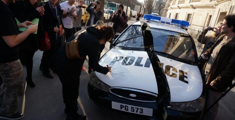 Metal Gear Rising: Revengeance PR stunt involves slicing up a police car