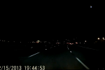 Fireball makes its way across the sky in Northern California
