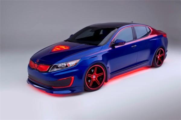 Kia and DC Comics create a Superman car