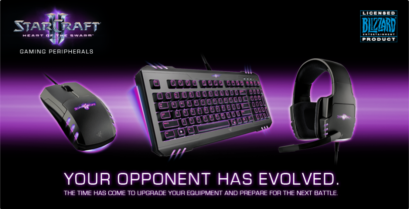 Razer is re-selling StarCraft II: Heart of the Swarm gear for a limited time