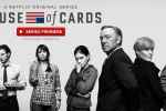 Netflix House of Cards original series now available