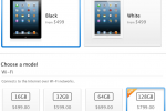128GB iPad now available in the Apple Store