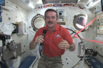 Star Trek actor William Shatner calls ISS Cdr. Chris Hadfield