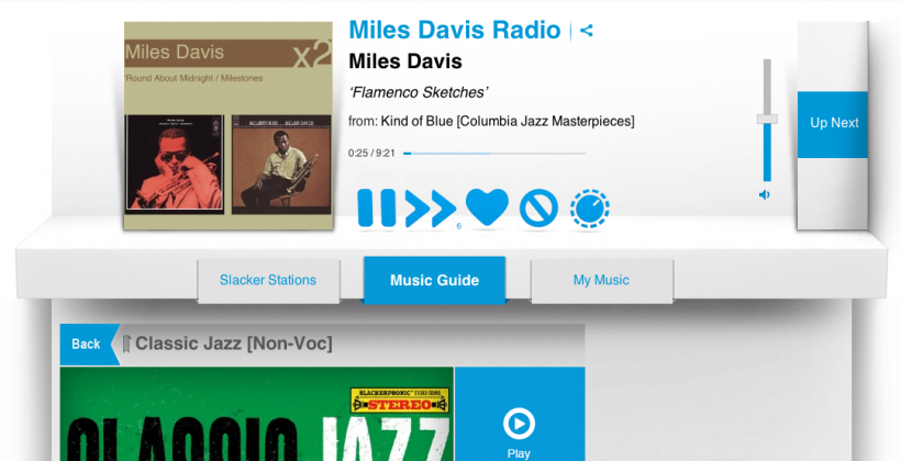 Slacker Radio gets overhauled redesign to take on Pandora and Spotify