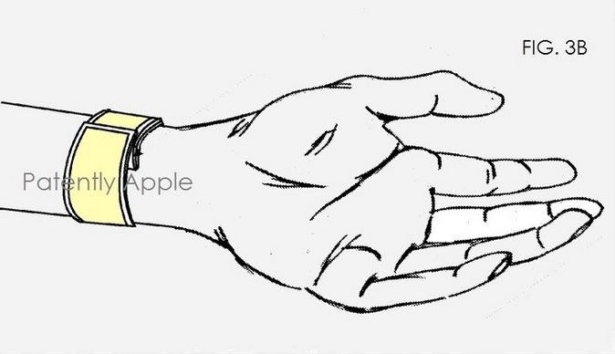 Apple iWatch wristband patent shows the future of slap bracelets