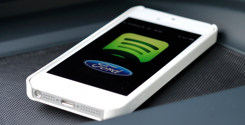 Ford SYNC teams up with Spotify for in-car entertainment