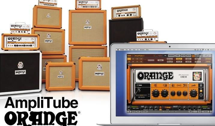 IK Multimedia launches AmpliTube Orange software for Mac and PC