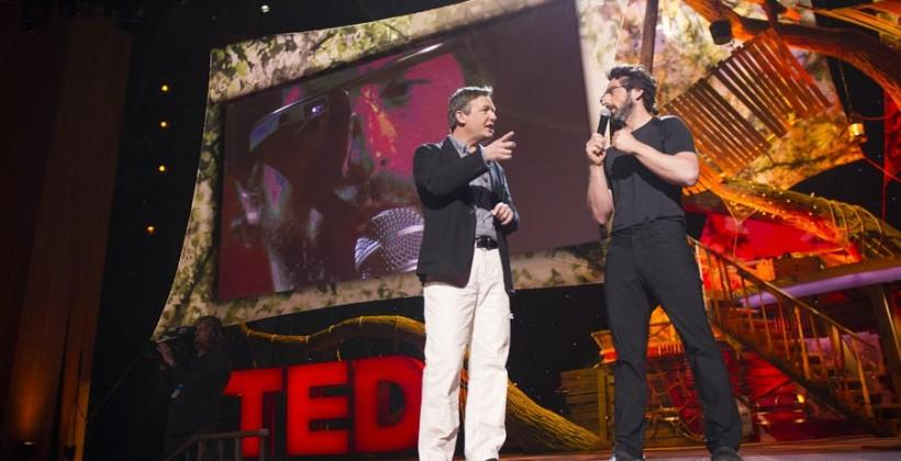 Sergey Brin talks Google Glass at TED conference