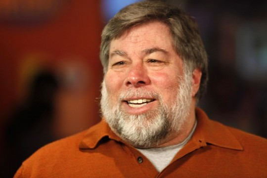 Steve Wozniak says Apple is falling behind with smartphones