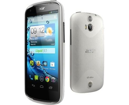 Acer Liquid E1 and Z2 aim for entry-level Android