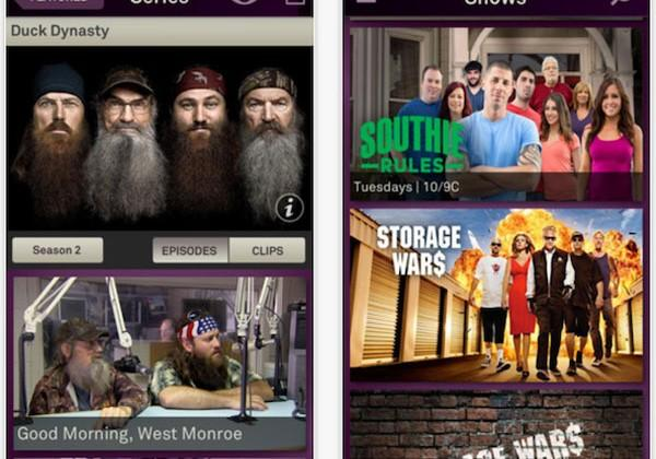 A&E offers iPhone users some of its most popular shows for free