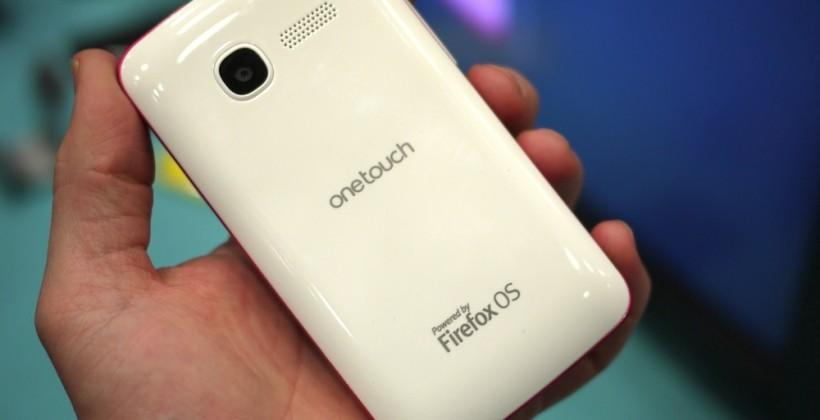 Alcatel ONE TOUCH FIRE Firefox OS phone hands-on