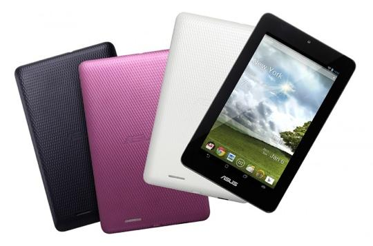 ASUS MeMO Pad 7 official video sufaces