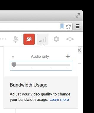 "Google+ Hangouts get ""bandwidth slider"" to battle Skype"