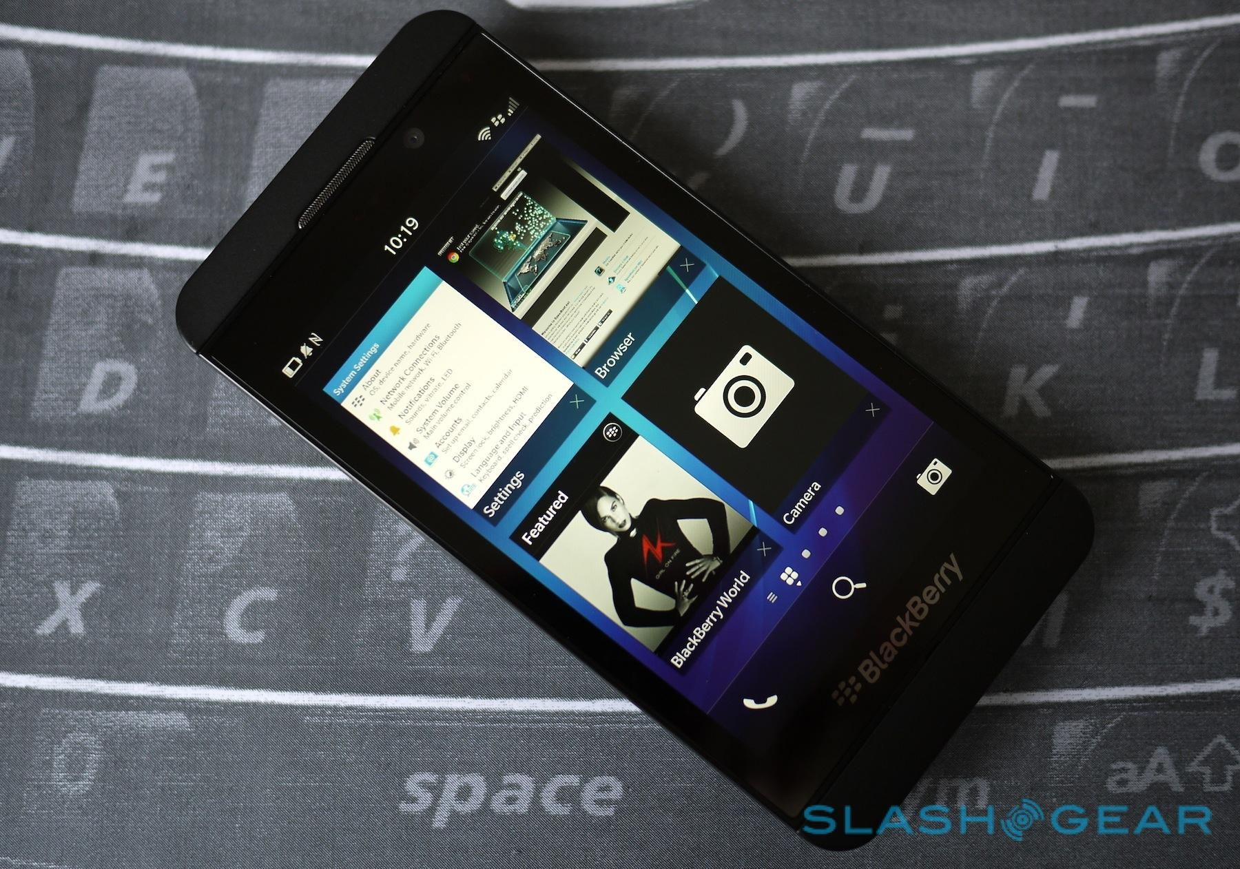 BlackBerry Z10 Review - SlashGear