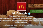Burger King Twitter account hacked to show McDonald's superiority [UPDATE]