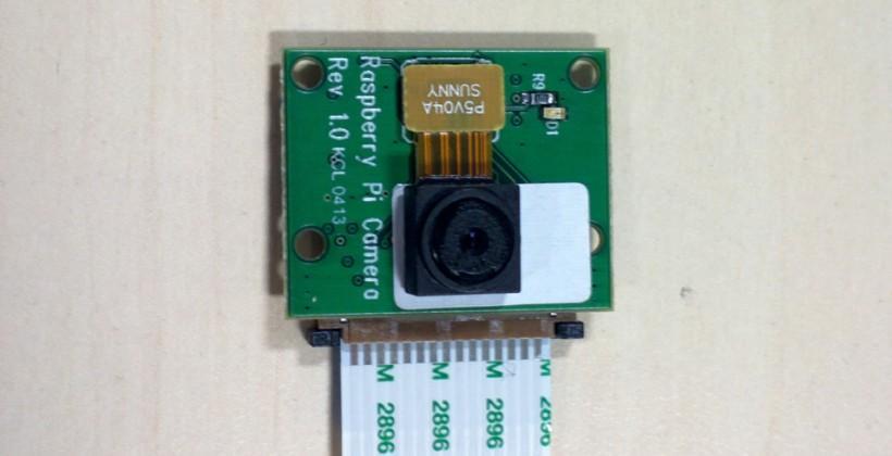 Raspberry Pi camera module finalized, priced at $25
