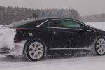 Cadillac takes ELR electric coupe to play in the snow