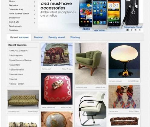 eBay to launch new personalized homepage tomorrow