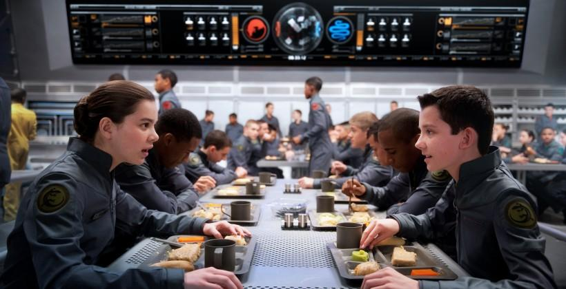 Ender's Game movie still analysis: the Mess Hall